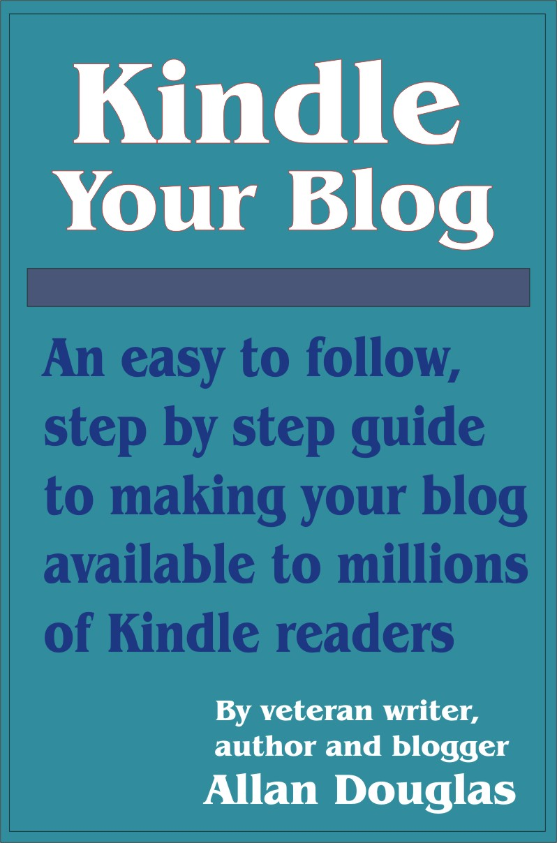 kindle your blog cover