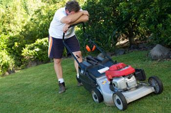 lawnmower trouble