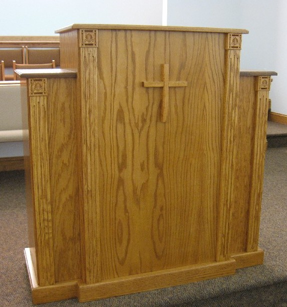 pulpit, lessons