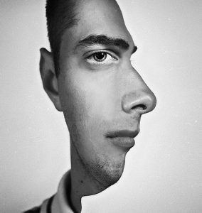 two-faced illusion