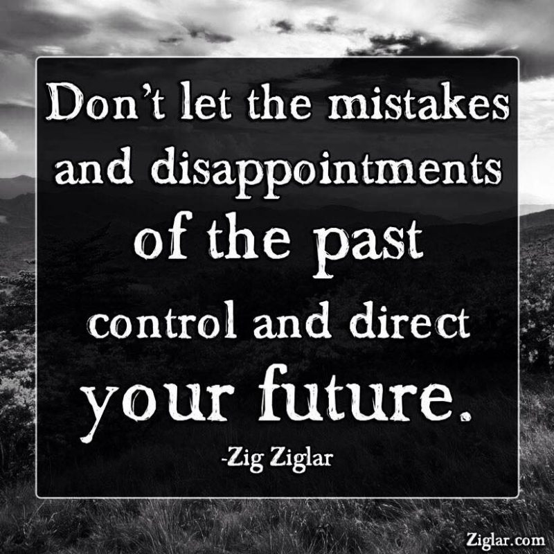 0102 Don't Let the Past Control Your Future