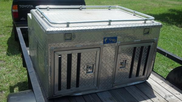 dog, crate, box
