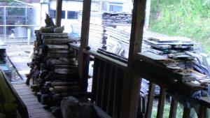 Firewood Pile Begun 150914