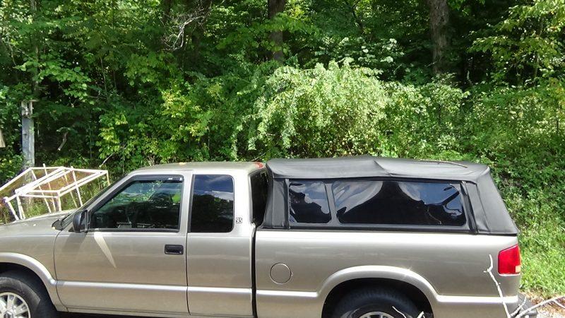 dog transport, pick-up, truck, Sonoma